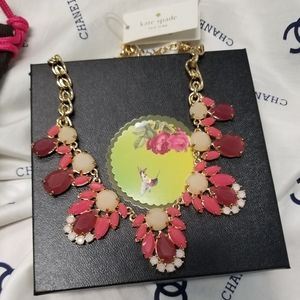 ⚘ Kate Spade Exquisite Statement Necklace